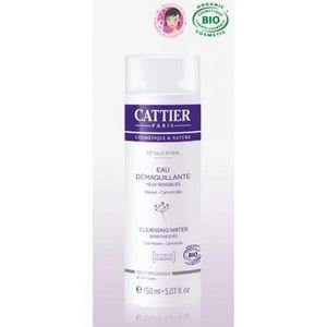 CATTIER PARIS - eau démaquillante bio yeux sensibles - petale d'i - Crème De Soin