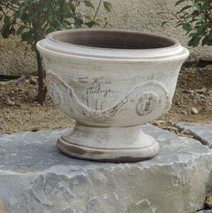 POTERIE TERRE FIGUIERE -  - Vasque De Jardin