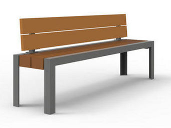 Maglin Site Furniture - mlb1055 - Banc Urbain