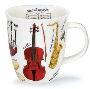Dunoon - making music cello - Mug