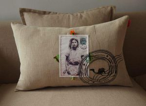 SISSIMOROCCO - carte postale behja 2 - Coussin Rectangulaire