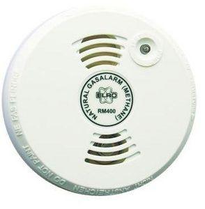 ELRO - alarme incendie - détecteur de gaz méthane, propan - Alarme Détecteur De Gaz