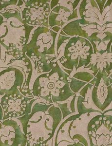 Fortuny - persepolis in green & gold - Tissu D'ameublement