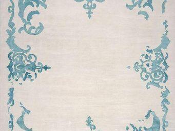 EDITION BOUGAINVILLE - richelieu turquoise - Tapis Contemporain