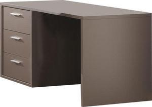 WHITE LABEL - bureau pour junior moderne coloris gris basalte - Bureau Enfant