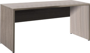 WHITE LABEL - bureau moderne et tendance 160cm coloris chêne fon - Bureau