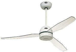 EVT/ Casafan - Ventilatoren Wolfgang Kissling - ventilateur de plafond, moderne 132 cm blanc, pale - Ventilateur De Plafond