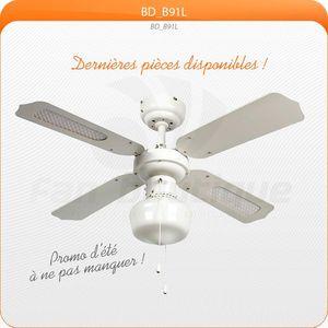LBA HOME - ventilateur de plafond 91 cm, idéal pour 9 à 13 m² - Ventilateur De Plafond