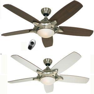 EVT/ Casafan - Ventilatoren Wolfgang Kissling - ventilateur de plafond mercury, moderne 132 cm chr - Ventilateur De Plafond