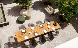 Tribu - contour - Table De Jardin