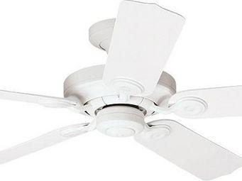 Hunter - ventilateur de plafond classique blanc pour extéri - Ventilateur De Plafond