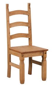 COMFORIUM - lot de 2 chaises salle à manger en pin massif - Chaise