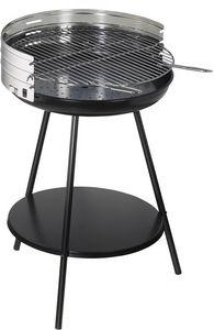 Dalper - barbecue à charbon rond en inox new clasic surface - Barbecue Au Charbon
