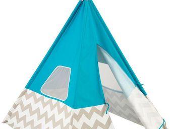KidKraft - tente tipi pour enfant turquoise - Tente Enfant