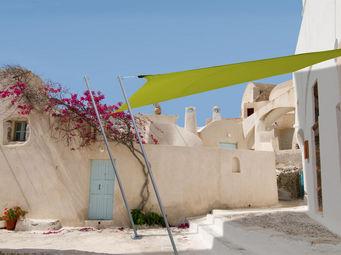 Ideanature - voile d'ombrage carrée 2,90 mètres vert anis - Voile D'ombrage