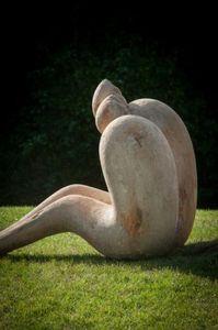ROBERT ARNOUX - les amantrs de sebourg - Sculpture