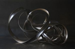 ELIE HIRSCH - exode - Sculpture
