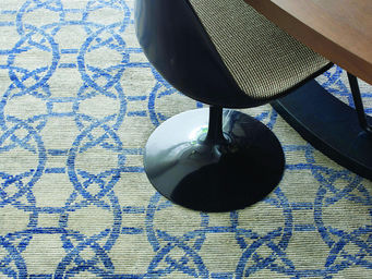 Toulemonde Bochart - eternity gris bleu - Tapis Contemporain