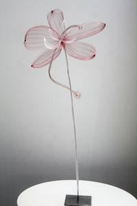 FRAN�OISE DELAIRE CR�ATIONS - orchid�?�e - Sculpture Lumineuse