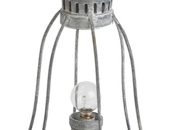 Amadeus - lanterne grise en fer belle île - Lanterne D'extérieur