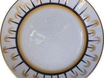 Marie Daage - frises - Assiette Plate
