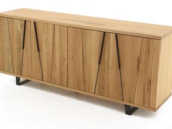 ZAGO - meuble bas 4 portes eclypse - Buffet Bas