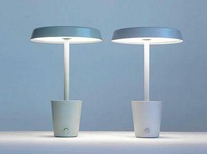 PAUL LOEBACH - cup lamp-- - Lampe À Poser À Led