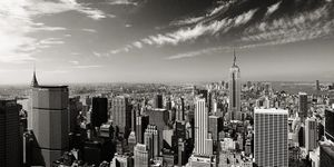 Nouvelles Images - affiche midtown manhattan new york - Affiche