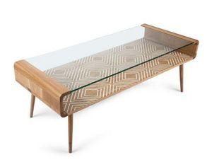SAKS CORNER - umuntu glass - Table Basse Rectangulaire