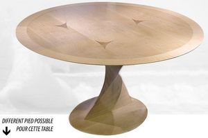 Creation Desmarchelier - miss scarpa - Table De Repas Ronde