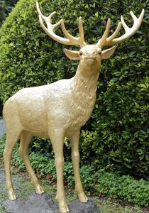 Tex-Artes - cerf - Sculpture Animalière