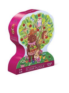BERTOY - 36 pc shaped puzzle bear & friends - Puzzle Enfant