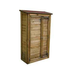 CEMONJARDIN - armoire de rangement en bois lisboa grand modèle - Range Outils De Jardin