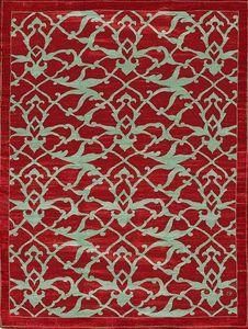 Parsua - arabesques iznik - Tapis Contemporain