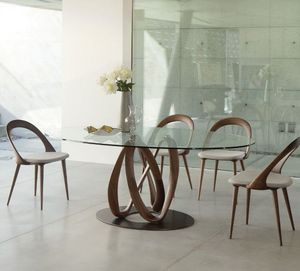 Porada - infinity - Table De Repas Ovale