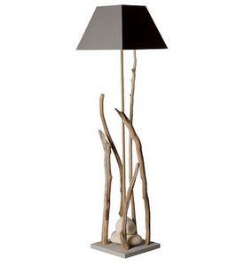 Coc'Art Créations - grand esprit de lagon - Lampe À Poser