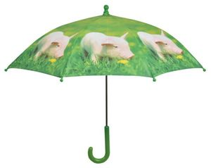 KIDS IN THE GARDEN - parapluie enfant la ferme cochon - Parapluie
