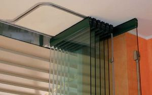 METALGLAS BONOMI - repliable - Porte Coulissante
