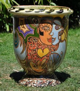 Le Chêne Vert - goro - Vase D'anduze
