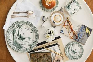 GIEN -  - Assiette Plate