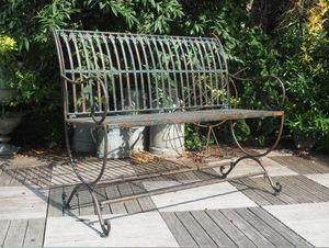 Demeure et Jardin -  - Banc De Jardin
