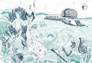 ANNA BOROWSKI -  - Fresque