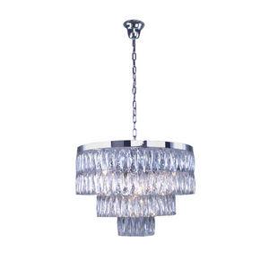 ALAN MIZRAHI LIGHTING - am0415 3-tier emerald lamp - Lustre