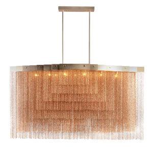 ALAN MIZRAHI LIGHTING - chain032 kelly square - Lustre