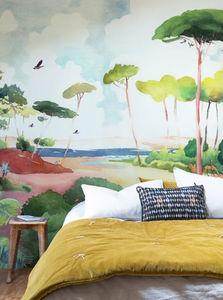 ISIDORE LEROY - forêt - Papier Peint