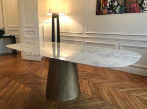 ADRIAN DUCERF - johanna - Table De Repas Ovale