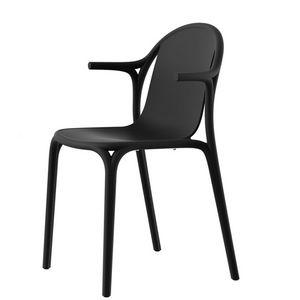 VONDOM - brooklyn - chaise à accoudoirs (lot de 4) - Fauteuil