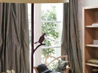 La maison de Brune - plume - Lampadaire