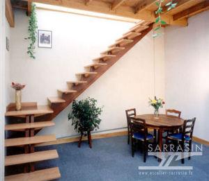 Escalier Sarrasin -  - Escalier Un Quart Tournant