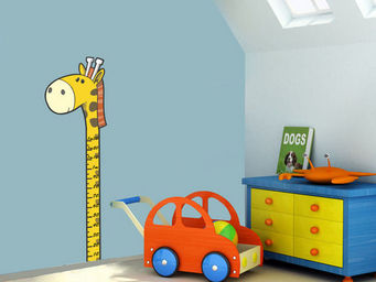 WEEDECO - toise girafe - Sticker D�cor Adh�sif Enfant